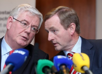 Eamon Gilmore and Enda Kenny will be hoping for by-election success on 23 May.