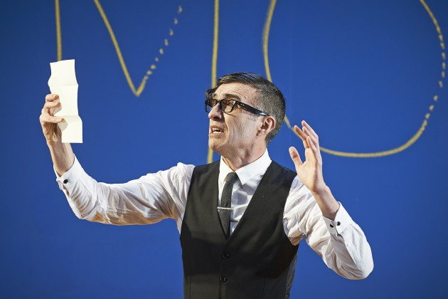 Mark O'Halloran in Abbey Theatre's production of Twelfth Night by William Shakespeare  Pic  Ros Kavanagh