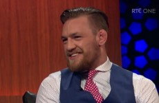 McGregor tells Ryan Tubridy he's 'too damn pretty' for UFC Dublin opponent Cole Miller