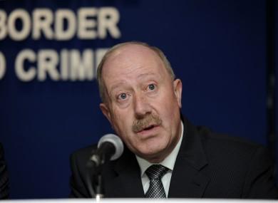 Former Garda Commissioner Martin Callinan.