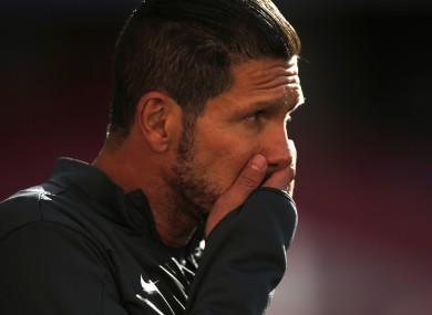 Simeone has already steered Atletico to a La Liga title.