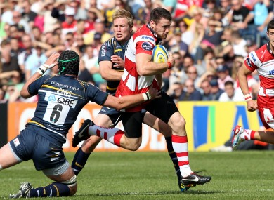 Shane Monahan was a try-scorer for Gloucester last weekend.