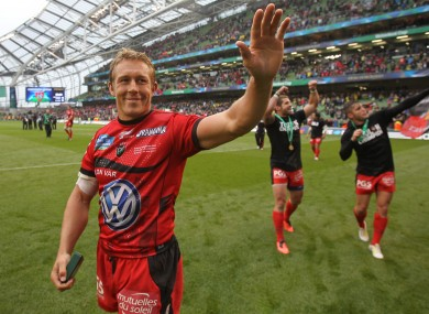 Wilkinson is hoping to end his playing days with a Top14/Heineken Cup double.