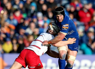 Sean O'Brien played 52 minutes on his comeback for Leinster against Edinburgh.