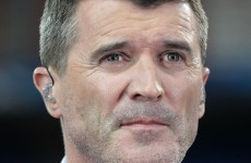'We'd like to throw him up and not catch him' – Roy Keane on giving Fergie the bumps