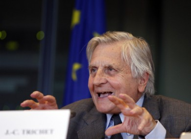 Jean-Claude Trichet is the former president of the European Central Bank