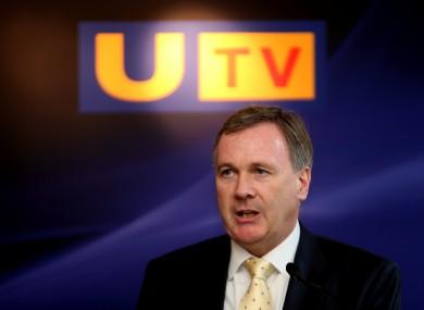 John McCann, Chief Executive of UTV Media plc.