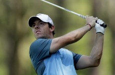 Birthday boy Rory McIlroy 75% of the way towards challenging for majors