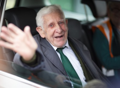 Bernard Jordan on his return to the UK.