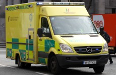 Crew and patient forced to flee after ambulance catches fire