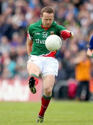 Andy Moran made a big impact when introduced against Roscommon in the provincial semis.
