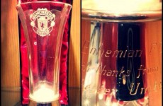 Man Utd send gift to Bohs to thank them for Liam Whelan Bridge clean-up
