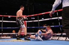 'I think… I got knocked the f*** out' – Groves reacts to KO on Twitter