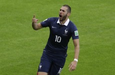 Benzema's brace sinks Honduras as France impress in their World Cup opener