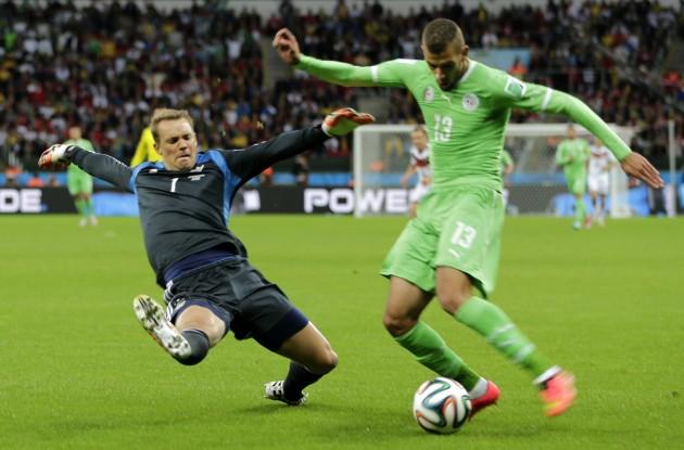 Brazil Soccer WCup Germany Algeria