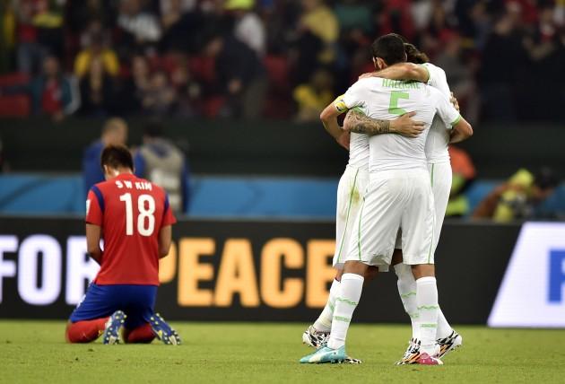 Brazil Soccer WCup South Korea Algeria