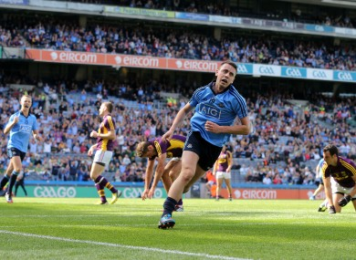 Cormac Costello after scoring his goal.