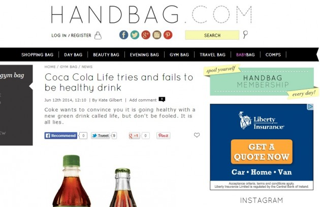 handbag coke