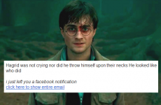 Lots of Irish people are getting spammed with Harry Potter quotes… and here's why