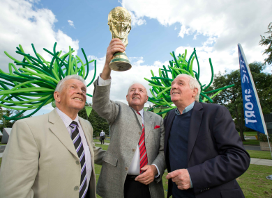 Giles, O'Herlihy and Dunphy at Donnybrook today.