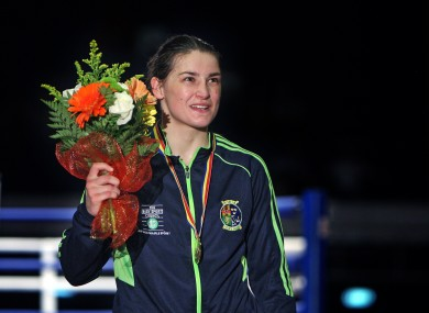 Katie Taylor with