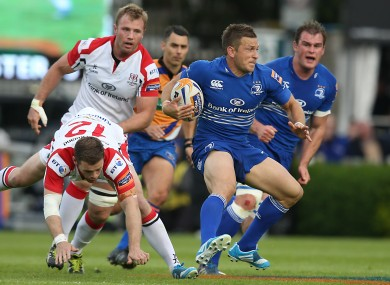 Leinster and Ulster most recently met in May, when the eastern province advanced to the Pro12 final.