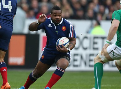 Mathieu Bastareaud is back for France at 13.