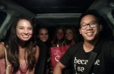 Guy drives around offering free lifts home to people who've been drinking