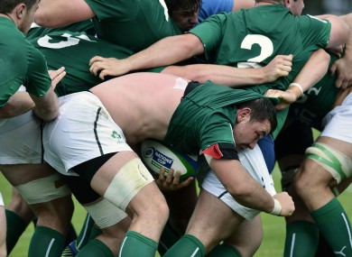 Paddy Butler and Emerging Ireland play on Sunday.