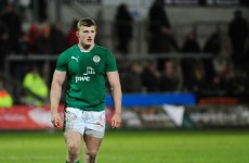 Ireland U20 centre Peter Robb one of five new recruits in Connacht academy