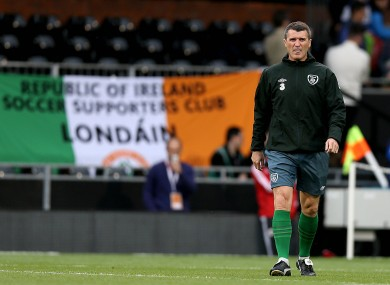 Ireland manager Martin O'Neill wanted the speculation surrounding Keane's future resolved before the squad flies out to America on Wednesday.