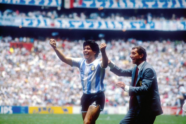 Soccer - World Cup Final 1986 Argentina v West Germany