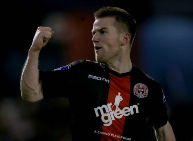 Steven Beattie was Bohs' best player.