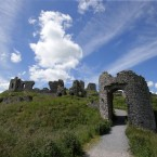 The Rock of Dunamase, County Laois.<span class=