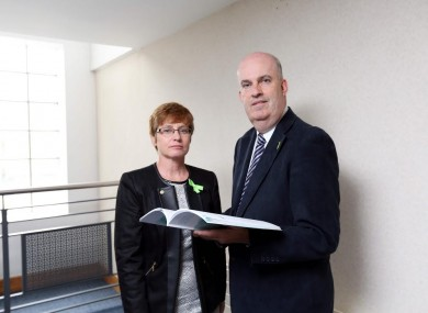 Patricia Gilheaney, Chief Executive of the MHC and John Saunders Chairman of the MHC