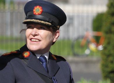 Acting Garda Commissioner Noirin O Sullivan