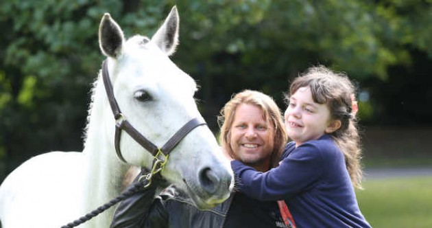 Horses are helping children with disabilities to gain confidence and trust