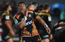 Connacht-bound Bundee Aki named in Chiefs team for Super Rugby knock-outs