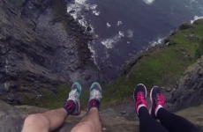 Most terrifying video of Cliffs of Moher ever?