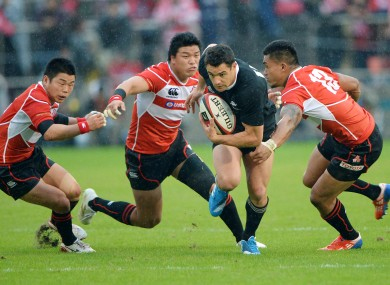 Japan hosted New Zealand in Tokyo in 2013.