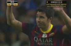 Deco scores two crackers for Barca and Porto in his own testimonial