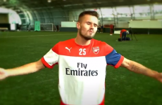 Arsenal players make the worst attempt at an accent since Tom Cruise in Far &#03