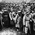 Russian prisoners of war in Poland.<span class=