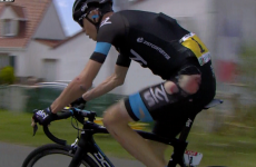 Froome continues after nasty Tour de France crash