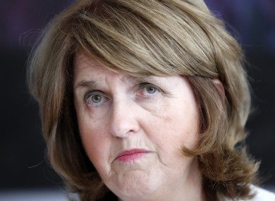 Joan Burton's work starts now