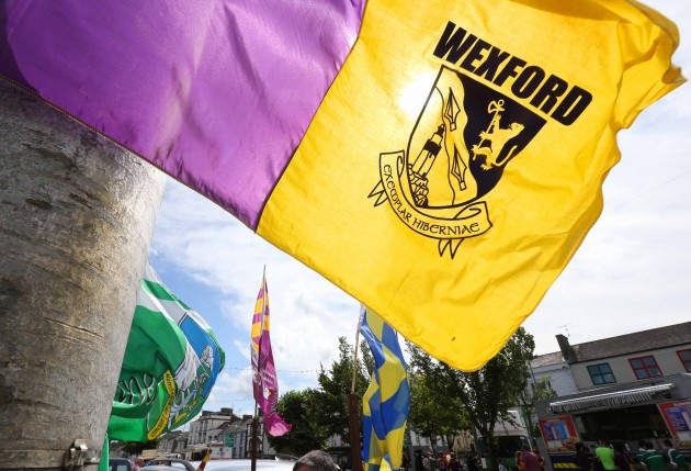 General view of a Wexford flag