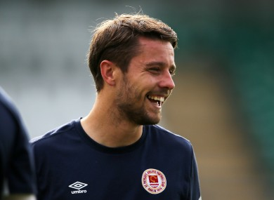 St Patrick's Athletic Captain, Ger O'Brien is confident ahead of clash with Legia Warsaw.