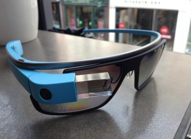 The prescription glasses version of Google Glass
