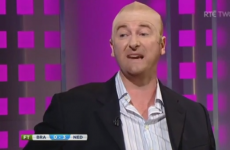 Aprés Match's Kenny Cunningham impression last night was spot on