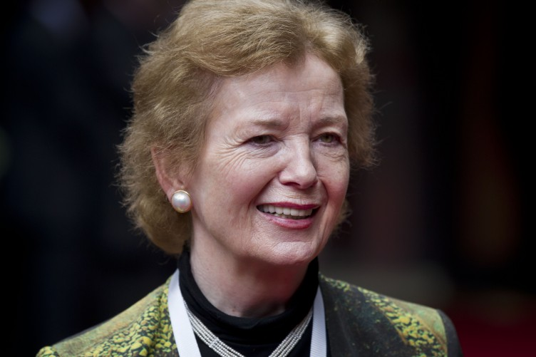Mary Robinson early years